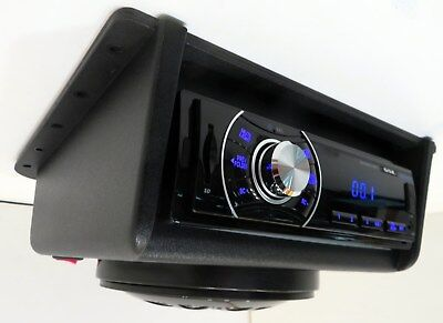 Golf Cart UTV Tractor Boat Overhead Console Bluetooth Radio Stereo