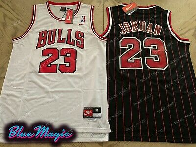hot sales a60fa 02458 NEW MICHAEL JORDAN Throwback Swingman Jersey #23 Chicago Bulls Mens USA  S-XXL