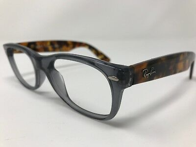0be285d4680 Ray Ban Eyeglass Frames RB5184 5629 Gray Tortoise Frame 50-18-145mm NX81