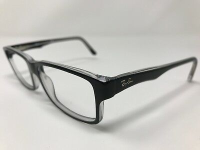 a58522503e7f4 Ray Ban Eyeglass Frames RB5245 2034 Black Crystal Frame 54mm Full Rim LN37