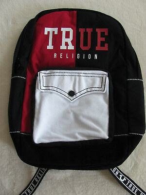 TRUE RELIGION UNISEX Backpack -TR Graffiti -Black   Gold- NWT ... 3854e41e0fde7