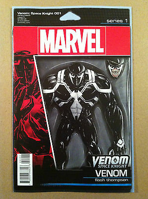 Venom Space Knight #1 Action Figure Variant Cover Christopher Nm 1St Printing