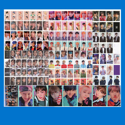 KPOP 7-pcs BTS Love Yourself Lomo Card Jimin Bangtan Boys Photocard J-hope Photo