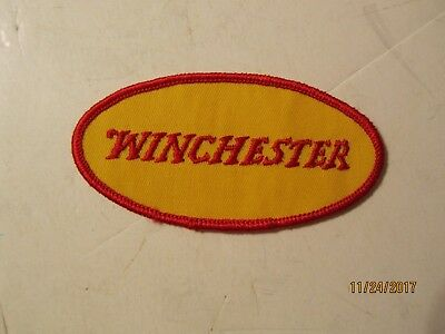 """New Vintage Winchester Rifle 4"""" Oval Cloth Patch"""