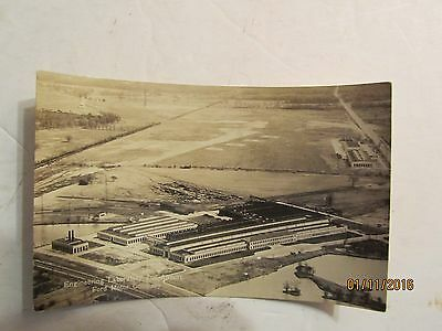 The Ford Engineering Lab & Airport Dearborn, Mich Postcard by Garraway Company