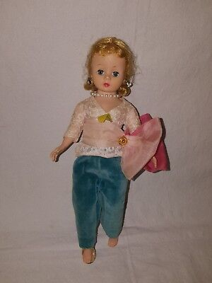 """Vintage Mme  Alexander 9"""" Cissette Doll Bent Knee With Outfit"""