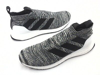 a16bb350e6ffa ADIDAS UltraBoost Running Shoes Gray Knit Slip On AC7749 Mens US 10.5 EU 44  2