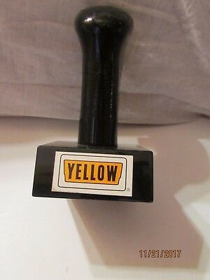 International Gear Shift Handle Plastic Paper Weight from Yellow Truck Lines