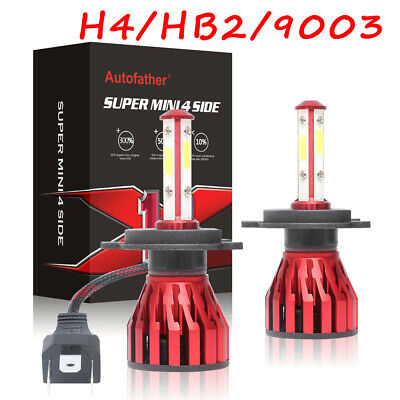 H4 9003 2000W 330000LM LED Headlight kit Lamp Bulbs Globes High Low Beam Upgrade