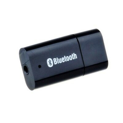 USB Bluetooth Music Audio Receiver Adapter with 3.5mm Stereo Output for Car V6J5