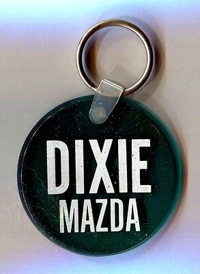 Dixie Mazda Car Dealership Advertising Key Chain ~ Hammond, Louisiana