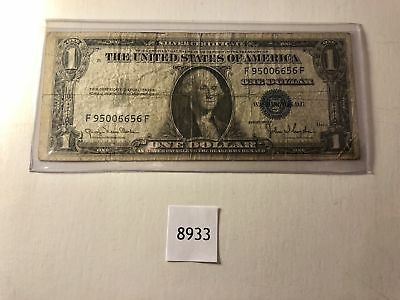 1935 D, $1 Blue Seal Silver Certificate, Star Note