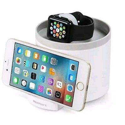 Charging Dock for Apple Watch, MixMart 3-USB Port Hub Charging Dock Station and