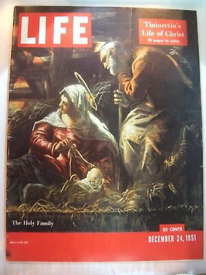 Vintage December 24, 1951 Life Magazine -  Tintoretto's Life of Christ on Cover
