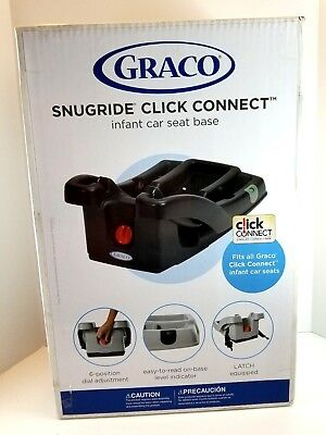 Graco SnugRide Click Connect 30/35 LX Infant Car Seat Base, Black, One Size Baby