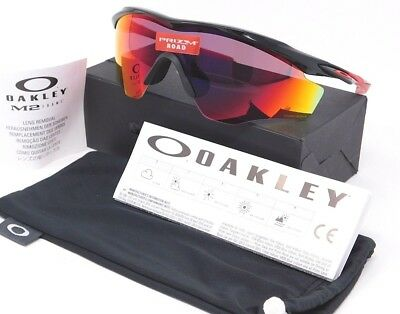 7bb9a2cc374 Oakley M2 FRAME XL Sunglasses OO9343-08 Polished Black with Prizm Road lens