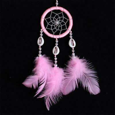 2pcs Handmade Dream Catcher with Feather Wall or Car Hanging Decoration Ornament