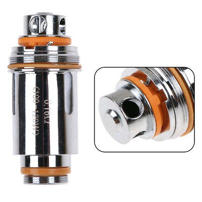 5x For Aspire Cleito Tank Replacement Dual Clapton Coils Head 0.16/ 0.2/0.4ohm