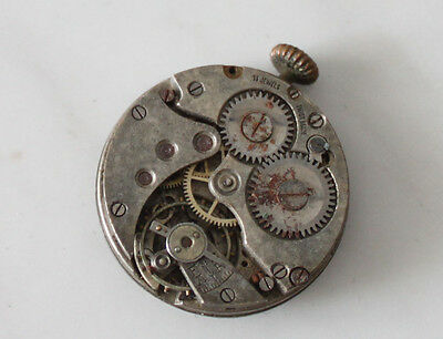 vintage watch movement manual wind 24 mm parts/spares