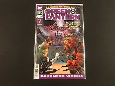 The Green Lantern #2 (2018) NM DC Comics 1st Print