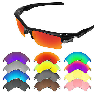 Tintart Replacement Lenses & Rubber Kits for-Oakley Fast Jacket XL Options