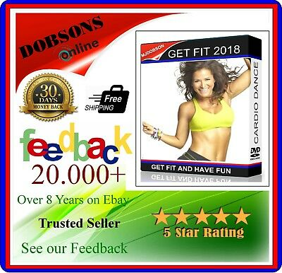 Fitness Cardio Burn Intensity Weight Loss  Exercise  - Dvd