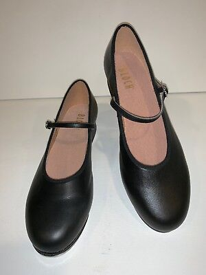 Bloch Shoes Heels Womens Size 11 Dance Tap Shoes Mary Jane Leather Black