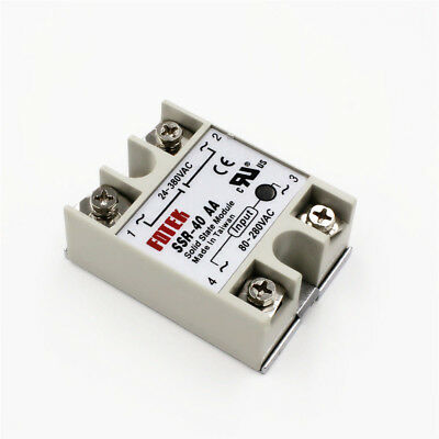 1Pc Solid State Relay Module SSR-25DA 25A /250V 3-32V DC Input 24-380VAC UK