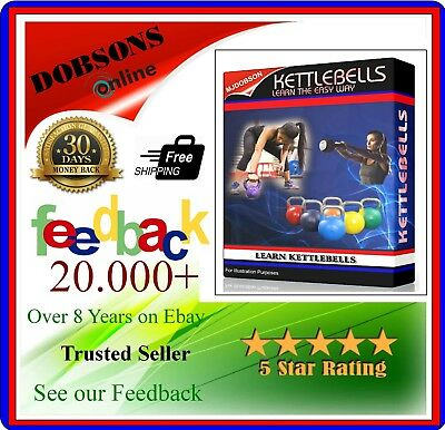 Tabata Kettle Bell Cardio Workout Fitness Lose Weight Exercise Dvd