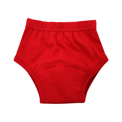 Pea Pods Training Pants - Large - Red