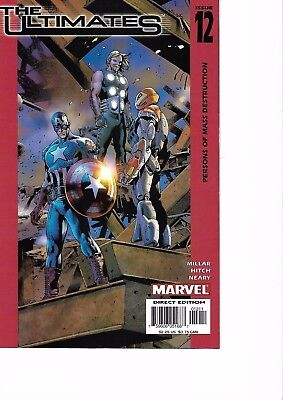 The Ultimates #12 (First Series) Marvel Comics 2003 - Bryan Hitch Art