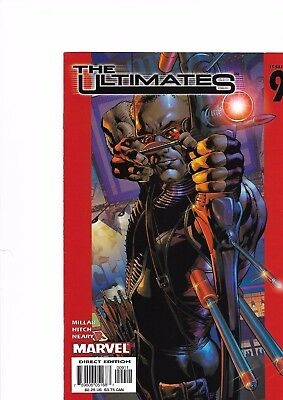 The Ultimates #9 (First Series) Marvel Comics 2003 - Bryan Hitch Art