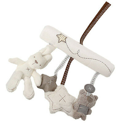 Bunny Baby Infant Activity Musical Toy Rattle Crib Stroller Pram Car Seat HR5