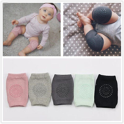 2x Baby Infant Toddler Crawling Knee Pads Safety Cushion Leg Protector Anti-slip