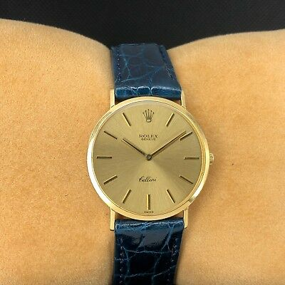 Rolex 3738 Cellini Geneve Yellow Gold Dial 18k Yellow Gold