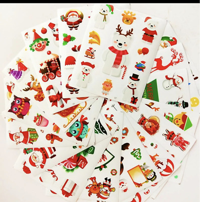 CHRISTMAS Sticker and Tattoo Bundle Deal