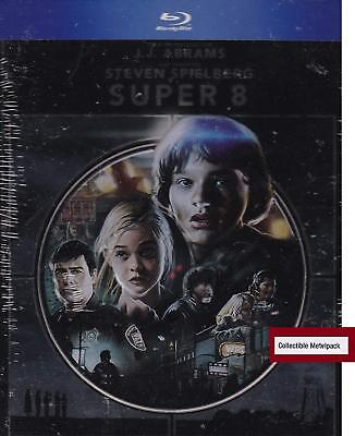 Super 8  (Blu-Ray,2011)Brand NewCollectible Metalpack Packaging
