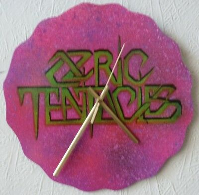record wall clock ..Ozric Tentacles..GONG. ..HAWKWIND..TANGERINE DREAM