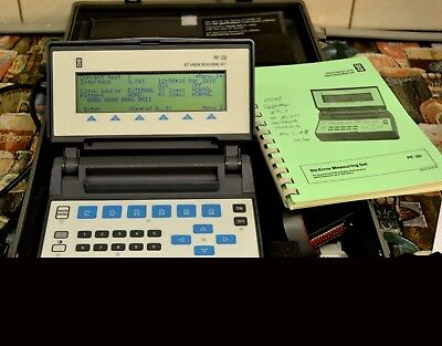 Wandel & Goltermann PF-20 Bit Error Measuring Test Set + MK-1 Instrument Case