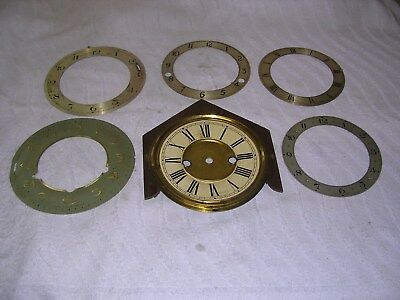 Clock  Parts , 1  Face  ,5 Chapter Rings