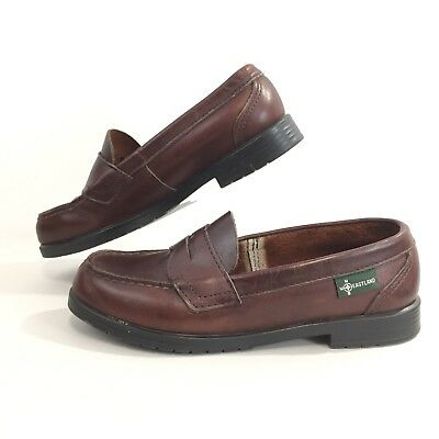 4eff2185537 Eastland Womens 7.5 M Brown Leather Penny Loafers Quality Flex Sole Comfort  7.5M