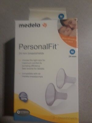 Medela Personal Fit 24 mm Breastshields Medium Spare Part For Medela Breast Pump