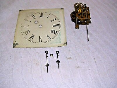 Clock  Parts , Movement ,face,,  Hands, Single Train