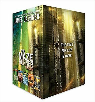 The Maze Runner Series Complete Collection Boxed Set (5-Book) [Hardcover] Das...