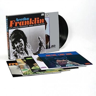 Aretha Franklin Atlantic Records 1960s Collection Vinyl 6 LP NEW sealed