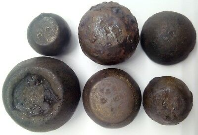 Bronze  trading weight for scales 6pc. 800-1000AD. Viking