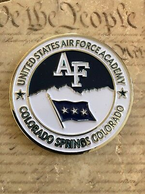 Superintendent US Air Force Academy USAFA Colorado Springs Challenge Coin