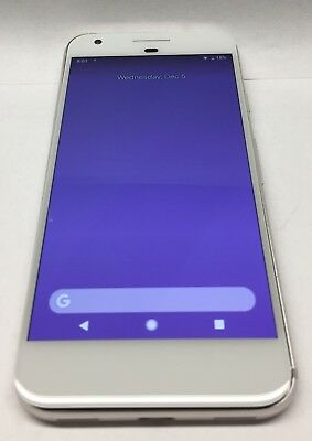 OEM AUTHENTIC WHITE Google Pixel Digitizer LCD Screen Good Condition Tested