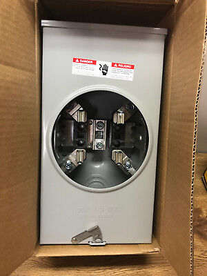 Siemens Suat317-Opqg Overhead Ringless Meter Socket 200A Outdoor Enclosure