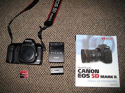 Canon EOS 5D Mark II 21.1MP Full Frame Digital SLR Camera Body +